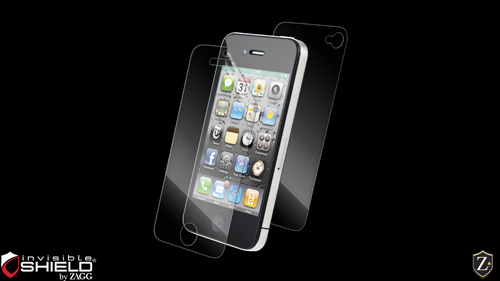 Apple iPhone 4/4S Screen Protector   invisibleSHIELD by ZAGG