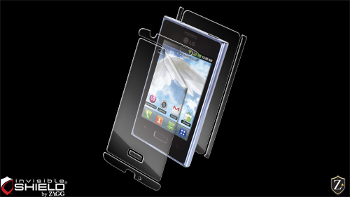 invisibleSHIELD for the LG Optimus L3 (European)