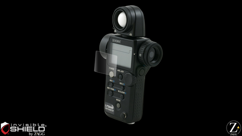invisibleSHIELD for the Sekonic L-758DR Light Meter
