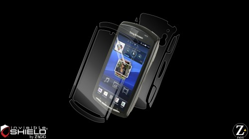 invisibleSHIELD for the Sony Ericsson Xperia Play